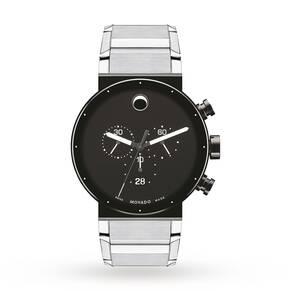 Mens Movado Sapphire Synergy Chronograph Watch 0606800