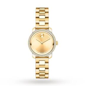 Ladies Movado Bold Diamond Watch 3600215