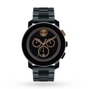 Mens Movado Bold Chronograph Watch 3600271