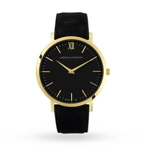 Larsson & Jennings Unisex Lugano 40mm Black Watch