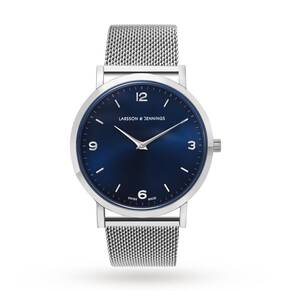 Larsson & Jennings Unisex Lugano 38mm Mesh Watch