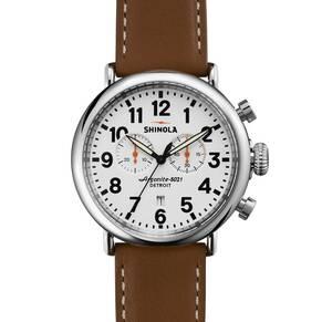 Shinola The Runwell 47mm Chronograph Watch