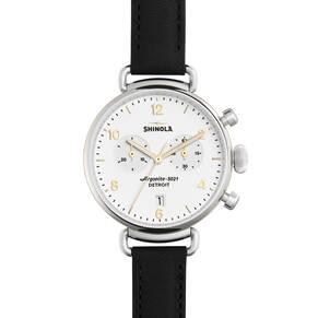 Shinola The Canfield 38mm Chronograph Unisex Watch