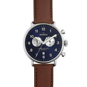 Shinola The Canfield 43mm Unisex Watch