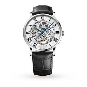 Louis Erard Excellence Skeleton Mens Watch