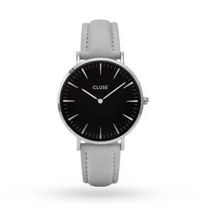 Cluse Ladies La Bohème Silver Black/Grey