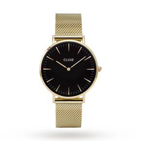 Cluse Ladies La Bohème Mesh Gold/Black