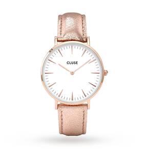 Ladies Cluse La Boheme Leather Watch CL18030
