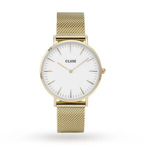 Ladies Cluse La Boheme Mesh Watch CL18109