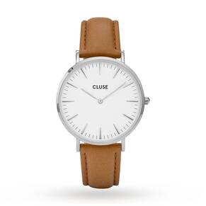 Ladies Cluse La Boheme Leather Watch CL18211