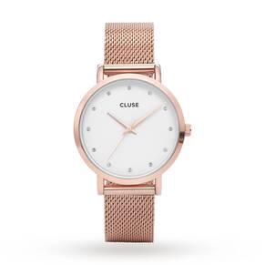 Ladies Cluse Pavane Mesh Watch CL18303