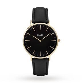 Ladies Cluse La Boheme Leather Watch CL18401