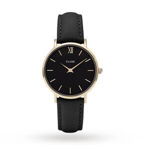 Ladies Cluse Minuit Leather Watch CL30004