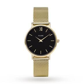 Ladies Cluse Minuit Mesh Watch CL30012