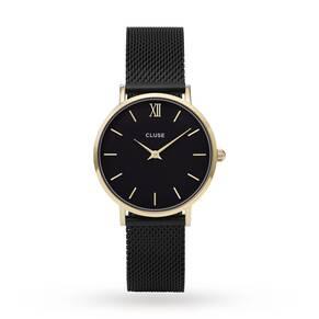 Ladies Cluse Minuit Mesh Watch CL30026