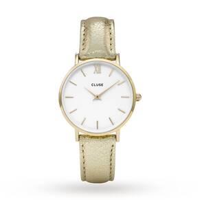 Ladies Cluse Minuit Gold Watch CL30036