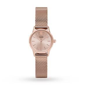 Ladies Cluse La Vedette Mesh Watch CL50002