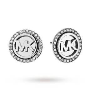 Michael Kors Logo Stud Earrings