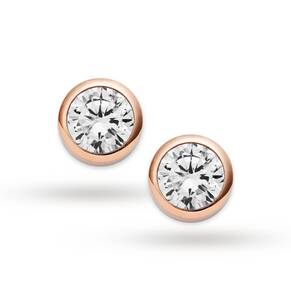 Michael Kors Jewellery Ladies' PVD rose plating Brilliance Earrings