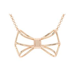 Ted Baker Jewellery Giaani Geometric Bow Pendant