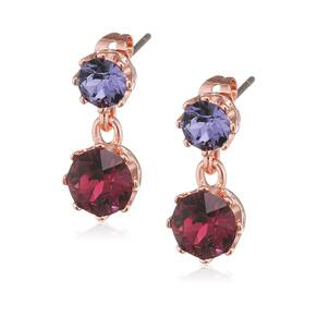 Ted Baker Jewellery Ladies' Connolee Crystal Crown Short Earrings