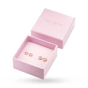 Ted Baker Rose Gold Earring Set