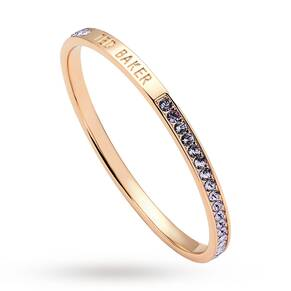 Ted Baker Clem Narrow Crystal Band Bangle