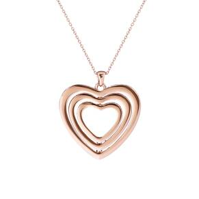 Ted Baker Helinna Crystal Spinning Heart Pendant