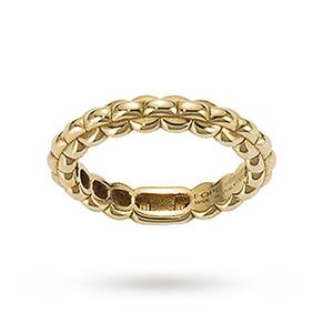 Fope Eka Tiny Ring in 18ct Yellow Gold