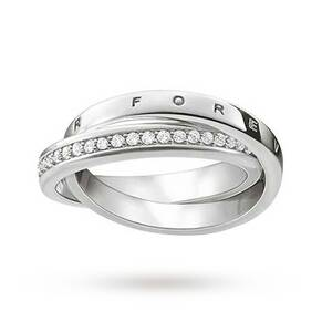 "Thomas Sabo Ring ""Together Forever"" Size 52"