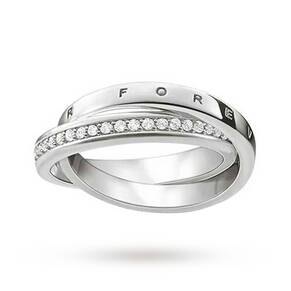 "Thomas Sabo Ring ""Together Forever"" Size 56"