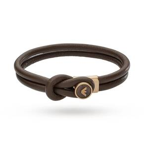 Emporio Armani Jewellery Men's Rose Gold Plated Bracelet