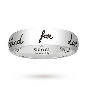 Gucci Exclusive Blind For Love 5mm Ring