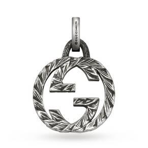 Gucci Silver GG Charm