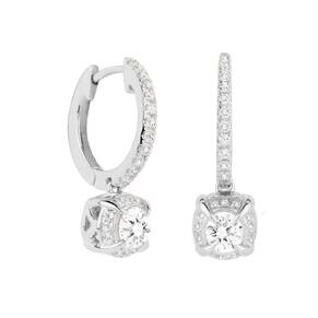 Jenny Packham 18ct White Gold 0.56 Carat Total Weight Bri ...