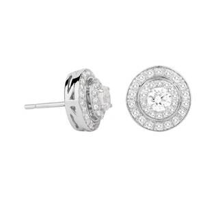 Jenny Packham 18ct White Gold 0.45 Carat Total Weight Bri ...