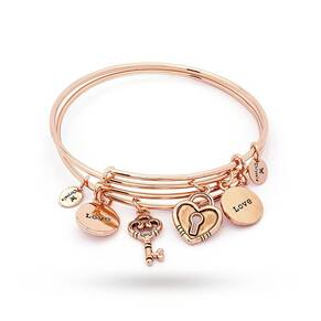 Chrysalis Love Expandable Bangle Set