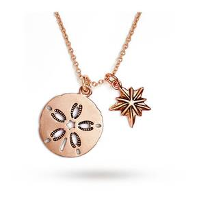 Chrysalis Sand Dollar Expandable Necklace