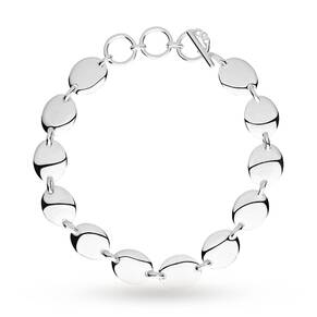 Links Of London Silver Grace Oval Disc T-Bar Bracelet 5010.3062