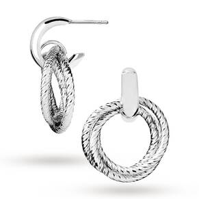 Links of London Sterling Silver Aurora Cluster Stud Earrings 5040.2878