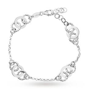 Links of London Aurora Sterling Silver Multi Links Bracelet 5010.3650