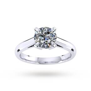 Belvedere Engagement Ring 0.25 Carat D Colour