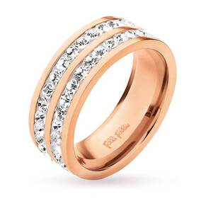 Folli Follie Classy Collection Ring Rose Crystal 52