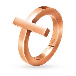 Folli Follie Carma Rose Gold Ring -52