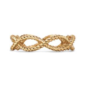 Roberto Coin New Barocco 18ct Yellow Gold Rings