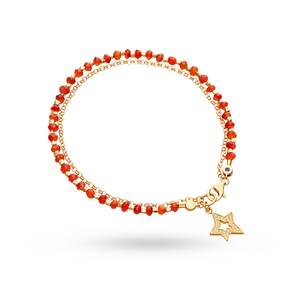 Astley Clarke Carnelian Shooting Star Biography Bracelet