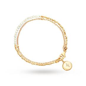 Astley Clarke Moonstone Locket Biography Bracelet