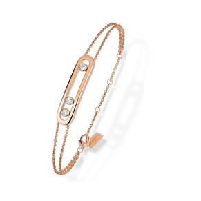 Messika 18ct Rose Gold Move Uno Diamond Bracelet