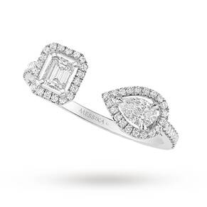 Messika 18ct White Gold My Twin Ring