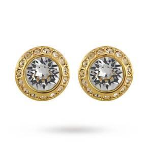 SWAROVSKI Jewellery Ladies' Pvd Gold Plated Angelic Earrings